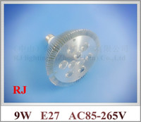 aluminum lathe - lathe profile aluminum LED spot light lamp spotlight LED bulb par light parlight E27 AC85 V LED W W CE