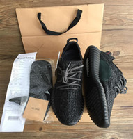 best womens shoes - 2016 Latest best boost Kanye West milan Running Sports Shoes mens womens Sneakers drop shipping Keychain Socks Bag Receipt Boxes