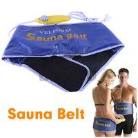 Wholesale Fedex DHL Free Velform Sauna Belt Slimming Healthy Diet Fat Burner Exercise Weight Lose Massager EU V L10