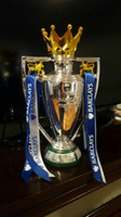 Wholesale 30 cm english fa Premiership trophy with ribbon premier league trophy replica Cup Barclay trophies and awards