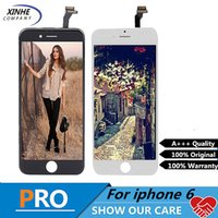 Wholesale No Dead Pixel LCD For Apple iPhone LCD Display With Touch Screen Digitizer Assembly best frame no fall off