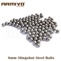 Wholesale Armiyo mm mm Diameter Slingshot Sling Shot Stainless Steel Balls For Hunting Shooting Compound Bow Arrow