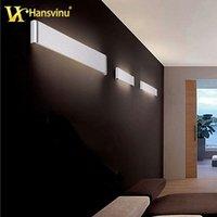 bathroom fixtures toilets - Modern bathroom LED mirrow light cm W acrylic mirror wall lamp Simple led wall light fixtures toilet mirror light