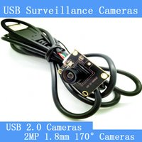 Wholesale 2MP Surveillance cameras P HD mm lens degree wide viewing angle USB2 camera module