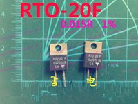 Wholesale Vishay power resistor w r to precision none sense resistor w thick film power resistor RTO20F R to