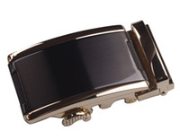 Wholesale New arrive Fashion Black Gold Silver Automatic Buckle for Belt colors