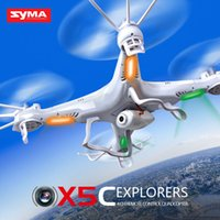 Wholesale Original syma x5c Remote Control RC Helicopter RC Quad copter Drone Ar Drone With HD Camera x5c