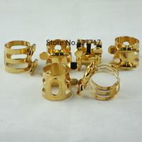 Wholesale 6pcs New beautiful alto saxophone Ligature