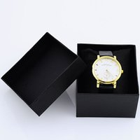 Wholesale Jewelry Watches Box Flannel Pillow Inner Fashion Simple and Elegant Watch Boxes for Men or Women JB0012