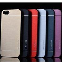 aluminium battery case - Ultra Thin Motomo Metal Aluminium Alloy Hard PC Case For Iphone S Plus Samsung S6 S5 Note Note S7 Mixed Model Order