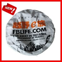 Wholesale 190T polyester car tire cover spare tire bag spare tire bag cover with sizes inch inch inch inch