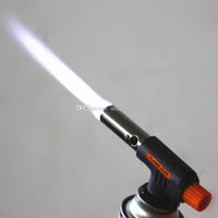accessories car games - Portable Flamethrower Gas Torch Burner Butane Ignition Camping Welding BBQ E00155 SPD