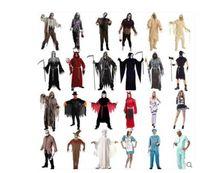 adult mummy costumes - Halloween zombies death Pumpkin demon mummy ghost vampire Cosplay Costumes Nurse Party Dress Up Halloween adult children clothing KKA642