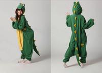 Wholesale New Adults Costume Onesies Crocodile Onesies Ladies Mens Cute Anime cosplay Onesies for Unisex