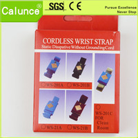 antistatic wrist strap - Blue Black Claret Red ESD Cordless antistatic wrist strap Cordless Antistatic wrist brand