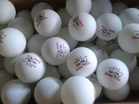 Wholesale boxes Balls Double Fish MM Olympic Table Tennis white Ping Pong ball