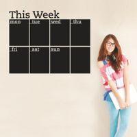 Wholesale cm week planner office blackboard chalk board sticker