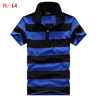 Wholesale 2016 Summer tshirt For Mens Casual Men s Sport t shirts plus size Fashion stripe T Shirt Men PL