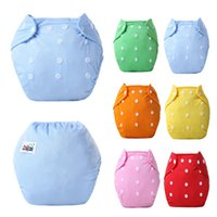 Wholesale Baby Diaper Girls Boys Infant Toddler Diaper Covers Cloth Diaper Baby Diaper Pants Breathable Reusable Comfortable Nappies Diapers