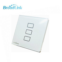 Wholesale Broadlink TC2 Gang Remote Control Wifi wireless Wall Light Touch Screen Switch Smart Home Automation AC110v V support Android IOS