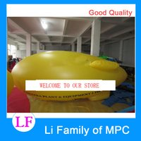Wholesale Exhibition airship inflatable advertising balloon inflatable helium ballon helium blimp