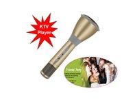 Wholesale Houway Newest K068 Bluetooth Wireless Microphone With Mic Speaker Condenser Mini Karaoke Player KTV Singing Record DHL