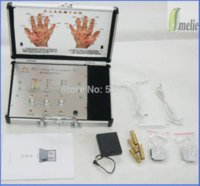 Wholesale Handheld detector and therapy massage device massage card device google device google