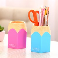 Wholesale Pen Holder Students Big Beautiful Pen Container Pencil Cute Cartoon Creative Pen Container Space Saving Durable And Waterproofing Plastic