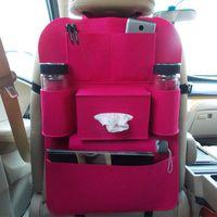 Wholesale Car Seat Bag Storage Folding Car Covers Back Car Felt Organizer Auto Pocket Storage Bag Vehicle Car Seat Organizer