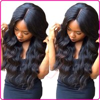 Wholesale 8A Water Wave Full Lace Human Hair Wigs For Black Women Natural Wave Glueless Brazilian Full Lace Wigs Wavy Lace Front Wig Stock