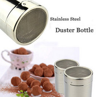 best choice coffee - Stainless Steel Power Duster Bottle Cocoa Powder Coffee Seasoning Bottle Good Helper Your Best Choice