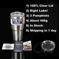 Wholesale 30oz Stainless Tumbler oz oz oz Clear Lid Rambler Cups for Coolers Cup Sports Mugs Large Capacity Stainless Yetis