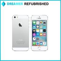 Wholesale 4 inch Retina Screen Refurbished iPhone S iOS Dual Core A7 GHz GB RAM GB ROM MP Camera Smart Phone Unlocked Free DHL