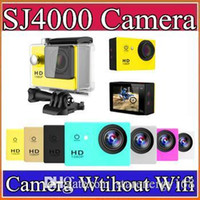 Wholesale Gopro Waterproof Sports Camera SJ4000 SJ5000 plus Style A9 HD Action Camera Diving P M quot View Mini DV digital Camcorders A XJ