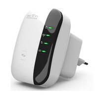 al por mayor refuerzo inalámbrico wi fi-Wireless WiFi Repetidor 802.11n Router Señal Rango Extender Amplificador 300Mbps Señal Extender Booster