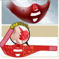 belt molding - Massager Massage Hot Selling Patent Product Japan d Molding Sleep Thin Belt Oval Face Shape Lifting Mask A Face lift Or675961