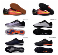 Wholesale 2016 New Boys Shoes Mercurical Victory VI IC TF Cheap Sale Football Boots MercurialX Finale Street TF Soccer Cleats Indoor Botas De Futbol