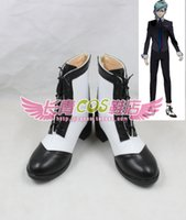 ai boot - Uta no Prince sama MIKAZE AI falt ver Cosplay Boots shoes shoe boot NC727 Halloween Christmas