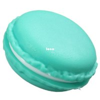 Wholesale Fashion Hot Sweet Macarons Storage Box Candy Color For Jewelry Earring Outing Boxes Living Essential