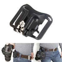 Wholesale Dslr Holster Fast Loading plastic buckle belt buckle Holster Waist Belt Quick Strap Buckle Button Mount Clip for Dslr Cameras Canon d
