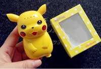 big portable battery - Pikachu Power Bank mAh Portable Charger Poke Cartoon Cute LED USB Phone Battery Mobile Chargers OOA439