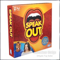 Wholesale 2016 Speak Out Game KTV party game cards for party Christmas gift newest best selling toy