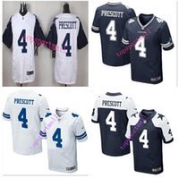 big cowboys - Big Discount NEW Dak Prescott Cowboys blue white thanksgiving day Stitched Elite Football Jerseys Mix Order