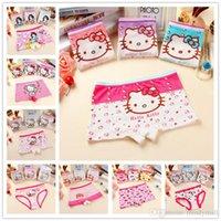 Wholesale 2016 Colors Sale For Girls Underwear Briefs Panties Kitty Baby Kids Pants High Quality Short Children Princesses