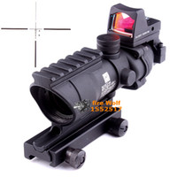 Wholesale 2016 NEW Trijicon ACOG X32 High Quality Scope telescope BK for hunting gun scope Optical instruments