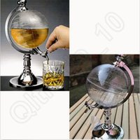 juice dispenser - Globe Shaped Beer Dispenser Beverage Liquor Wine Machine Pump Canister Portable Bars Juice Machine Hot Selling OOA458