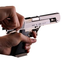 plastic ornament - Desert Eagle pistol Cigarette lighter metal XL Beretta m92f simulation model props ornaments no gas