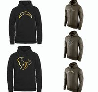 american raven - Cheap Men s Fashion Texans Black Gold Pullover Hoodies Ravens Olive Green Charges American Football Hoodies Sweatshirts