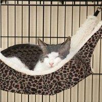 Wholesale Popular Warm Cat Bed Pet Hammock For Pet Cat Rest Cat House Soft Comfortable Cute Pet Dog Cat Blanket Paw Prints Soft Warm Fleece Mat Bed