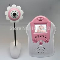 Wholesale Flower Design inch TFT LCD G New Wireless Camera Voice Control Baby Monitor with Night Vision Voice Control AV OUT